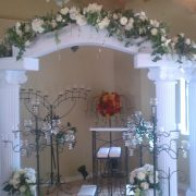 Premier Party Rentals - Arch and Candelabra