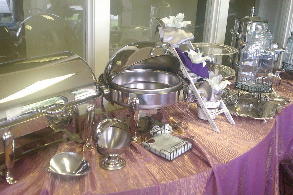 Premier Party Rentals - Buffet Ware 24